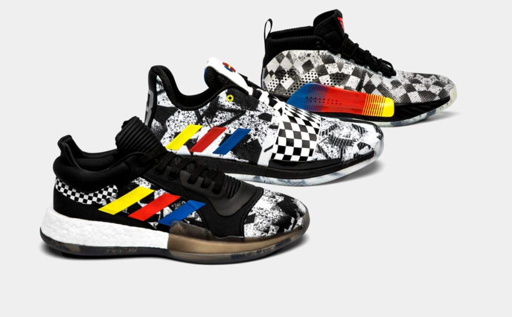 Adidas Drops Raceway-Inspired All-Star Colorways for Harden, Lillard, Lowry